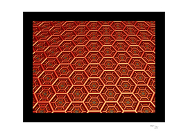 HEXAGRID in RED