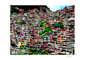 Caracas's Barrio (color)