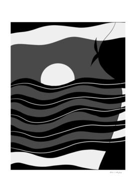 Pool Dream Woman #1 #minimal #wall #art