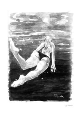 Submergerd