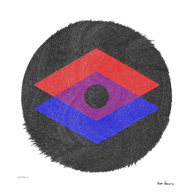 Frayed Field 1 (Rhombuses)
