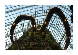 The cloud forest, Singapore's Gardens in the Bay