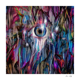 Eye in Colorful Space