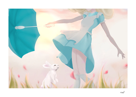 Alice upskirt