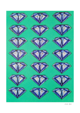 Diamonds (blue)