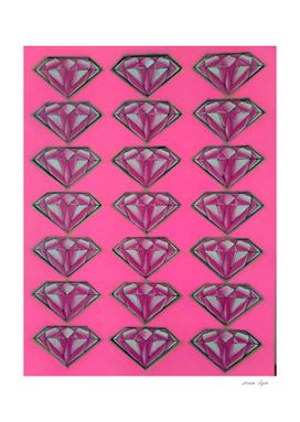 Diamonds (pink )