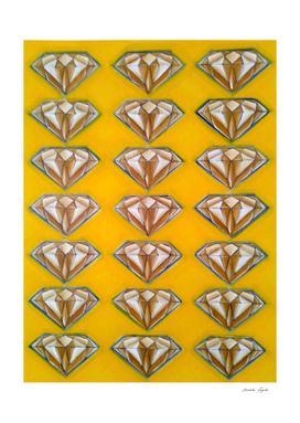 Diamonds (yellow )