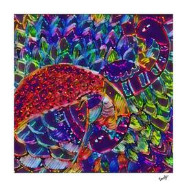 madhubadi neon art