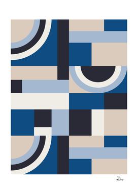Classic Blue Blocks