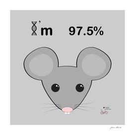 I'm 97.5% mice