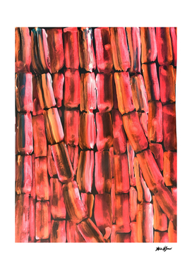 Copper Coral Sugarcane