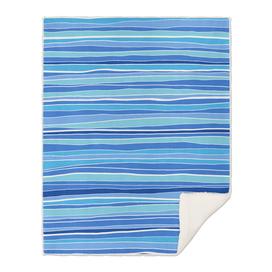 Classic Blue Coastal Stripes