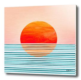 Minimalist Sunset III