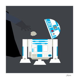 Darth Vader vs R2-D2