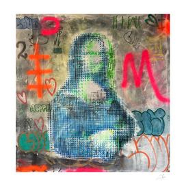 Monalisa graffiti