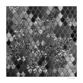 Mermaid Glitter Scales #7 (Faux Glitter) #shiny #decor #art