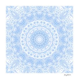Soft Blue Mandala