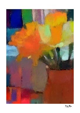 Daffodils at the Kitchen Window