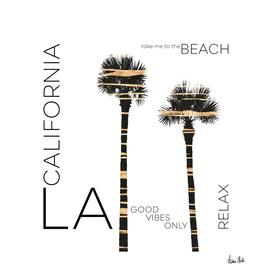 Urban Art LA Palm Trees
