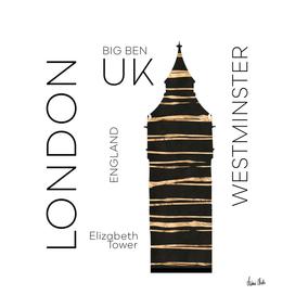 Urban Art LONDON Big Ben
