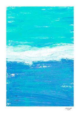Acrylic ocean