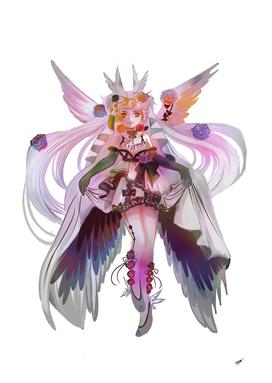 Marapraline Lenaria wing anime manga girl