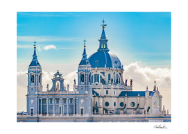 Santa Maria la Real de la Almudena Cathedral, Madrid,