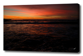 Red Seascape