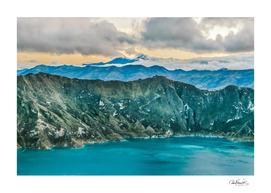 Quilotoa Lake, Latacunga - Ecuador