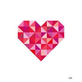 Valentine Tangram Heart