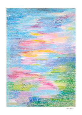 Pastel abstract 3