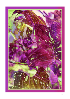 Liriodendron Leaves -Purple
