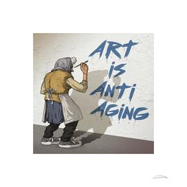 Art is Anti Aging