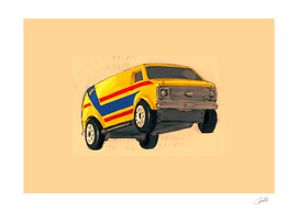 Matchbox Chevy Van