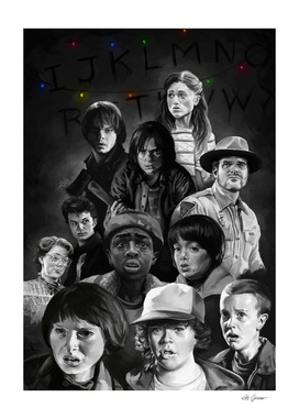 Stranger things tribute