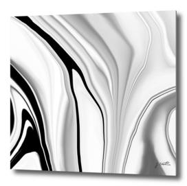 Black and White liquid color
