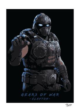 Gears of war Clayton