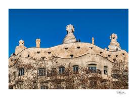 Gaudi, La Pedrera Building, Barcelona - Spain