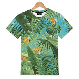 Bird of Paradise Jungle Leaves Dream #1 #tropical #decor