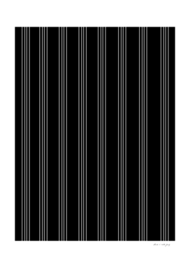 Minimal Black White Stripe Glam #4 #lines #decor #art