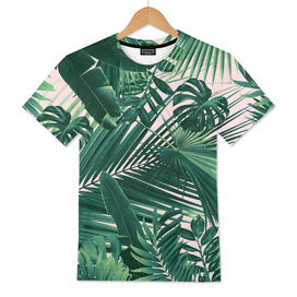 Jungle Leaves Siesta #1 #tropical #decor #art