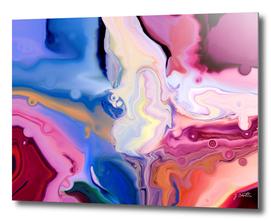 Liquid colors abstract streams