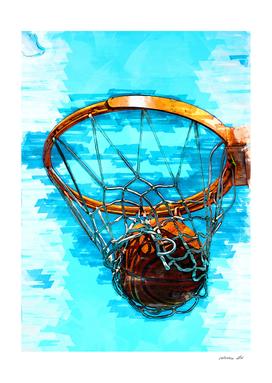 Perfect Basketball Hoop Shot Trio Three