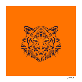 Tiger in danger by #Bizzartino