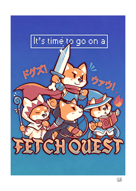 Its Time to go on a Fetch Quest
