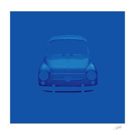 Blue Fiat 600
