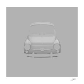 Fiat 600 grey
