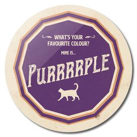 What's your favourite colour? Purrrrple
