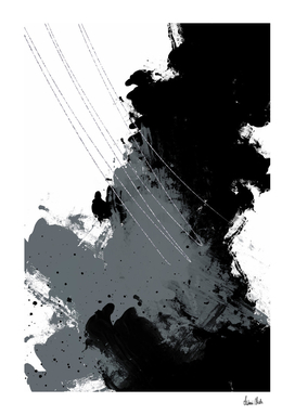 Abstract Painting No. 5 | silver
