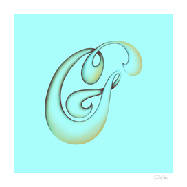 G Teal & Gold